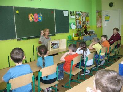 Nasze pierwszaki aktywnie działają w Świerszczykowym Klubie Pożeraczy Liter
