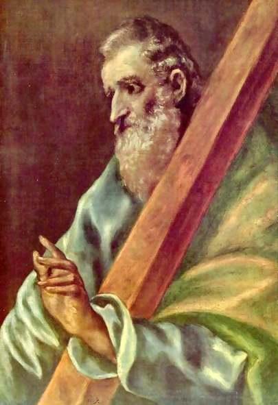 Św. Andrzej, mal. El Greco
