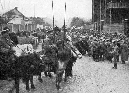 kozacy - wojsko na służbie rosyjskiej