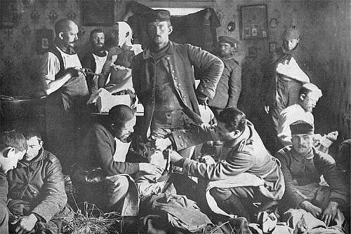 lazaret czyli polowy szpital wojskowy