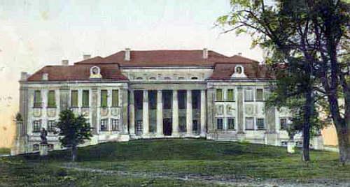 Równe 1915 zamek Lubomirskich