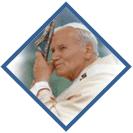 Logo Publiczna Szkoła Podstawowa im. Jana Pawła II w Ludwikowie