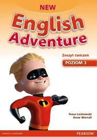 "Okładka ""New English Adventure 3"""
