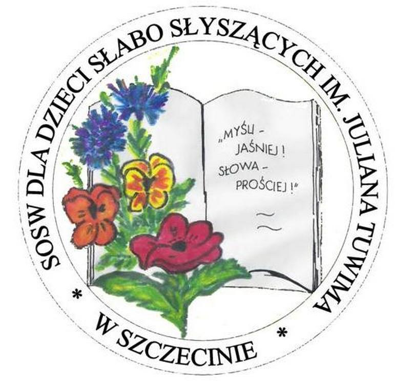 Logo Ośrodek Szkolno - Wychowawczy dla Dzieci Słabosłyszących im. Juliana Tuwima w Szczecinie, ul. Gr