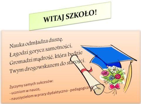 Zespół Szkolno-Przedszkolny - Rozpoczęcie roku szkolnego 2018/19