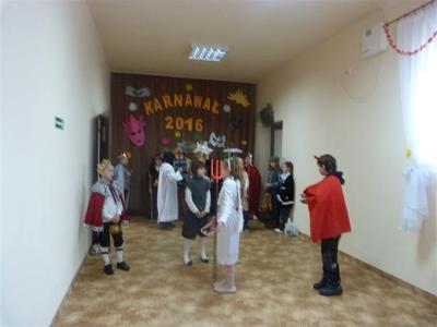 Dnia 29.01.2016r. uczniowie z klasy III SP  byli z wizytą w Dziennym Domu Senior Wigor w Salominie.