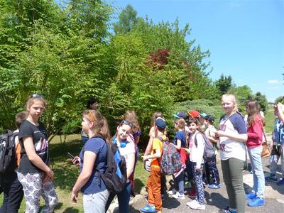 W dniu 20.05.2016 roku uczniowie klas IV, V, i VI z Zespołu Szkół w Księżomierzu, ZS w Liśniku Duż