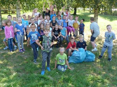 W dniu 16 września 2016 roku uczniowie naszej szkoły włączyli się w akcję Sprzątania Świata.