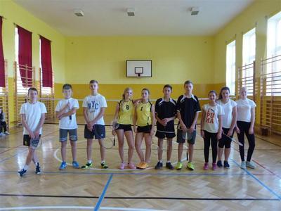 W dniu 17-10-2016 odbyły się w naszej szkole zawody w badmintona.