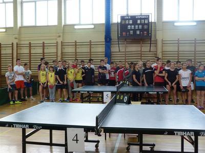 W dniu 26.10.2016 r. odbyła się  Powiatowa Gimnazjada  dziewcząt i chłopców w indywidualnym tenisie