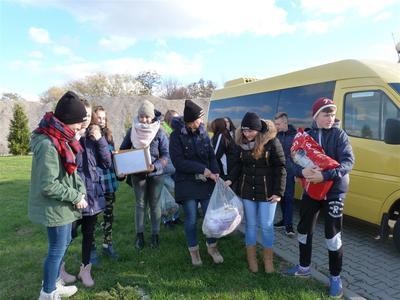 W dniu 04 listopada 2016 r. pod opieką Pani Joanny Jackowskiej i Pani Ewy Wronki , uczniowie naszej szko