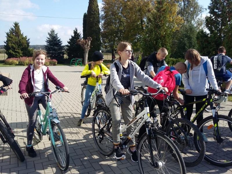Rajd rowerowy do Urzędowa - wyjazd