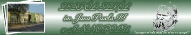 Logo Zespół Szkół im. Jana Pawła II w Annopolu