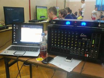 Na zdjęciu sprzęt specjalistyczny wykorzystany podczas turnieju