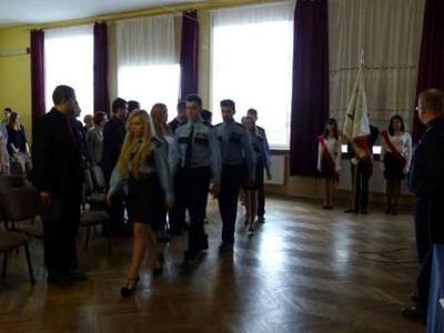 Na zdjęciu od lewej Paulina Drumlak, Krystian Janczarek, Mateusz Jaśkiewicz, Andżelika Machul, Kamil M