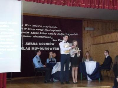 Na zdjęciu od lewej Michał Kmieć, Marlena Sagan