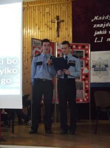 Na zdjęciu od lewej Mateusz Jaśkiewicz, Hubert Stańko