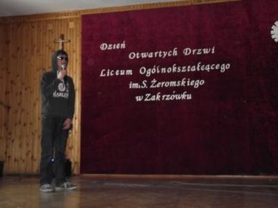 Na zdjęciu Piotr Głaz