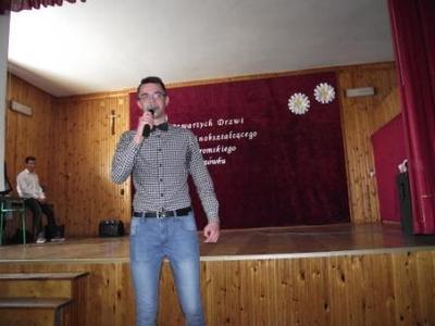 Na zdjęciu Michał Kmieć