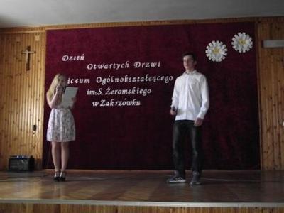 Na zdjęciu od lewej Paulina Drumlak, Mateusz Jaśkiewicz
