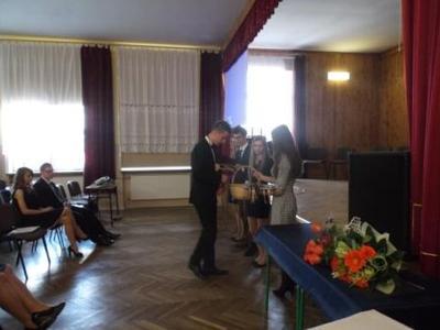 Na zdjęciu od od prawej Katarzyna Flis, Aneta Stręciwilk,Szymon Szostak, Magdalena Majewska,Michał Sid