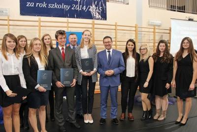 Na zdjęciu od lewej Marlena Warsińska, Magdalena Majewska, Lucyna Widomska, Karolina Zielonka, Dariusz