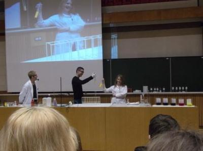 Pokazy chemiczne na Wydziale Chemii UMCS w Lublinie