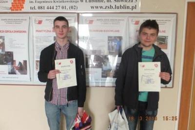 Na zdjęciu od lewej Kamil Pasternak i Marcin Tęsny