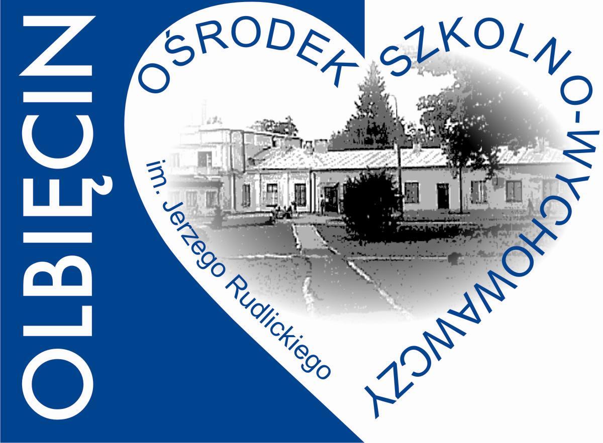 Logo Ośrodek Szkolno-Wychowawczy im. Jerzego Rudlickiego w Olbięcinie