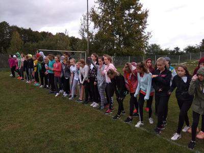 Mimo niesprzyjającej aury Uczniowie naszej szkoły pokazali dzisiaj wolę walki i bardzo dobre przygotow