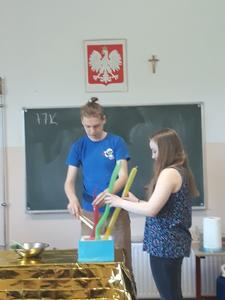 W ramach obchodów Dnia Dziecka w naszej szkole odbył się Piknik Naukowy realizowany w ramach projektu