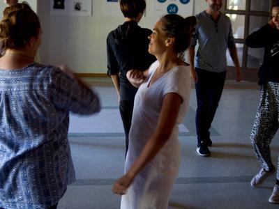 W dniach 4-8 września 2019 r. w GCK Powozownia odbył się kurs Teatru Forum. Uczestniczyli w nim lokaln