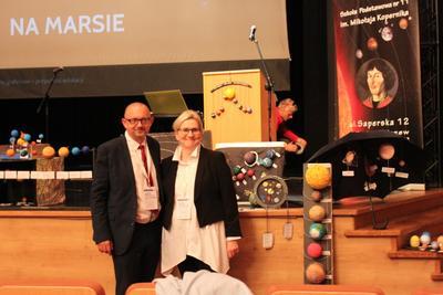 Dnia 6 października 2017 roku w Centrum Kultury i Sztuki odbyła się konferencja ,,Uczeń - Rodzic - Na