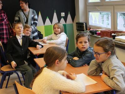 Dnia 8 stycznia 2019 r. w naszej szkole odbył się międzyszkolny konkurs dla klas trzecich Omnibus. Sze