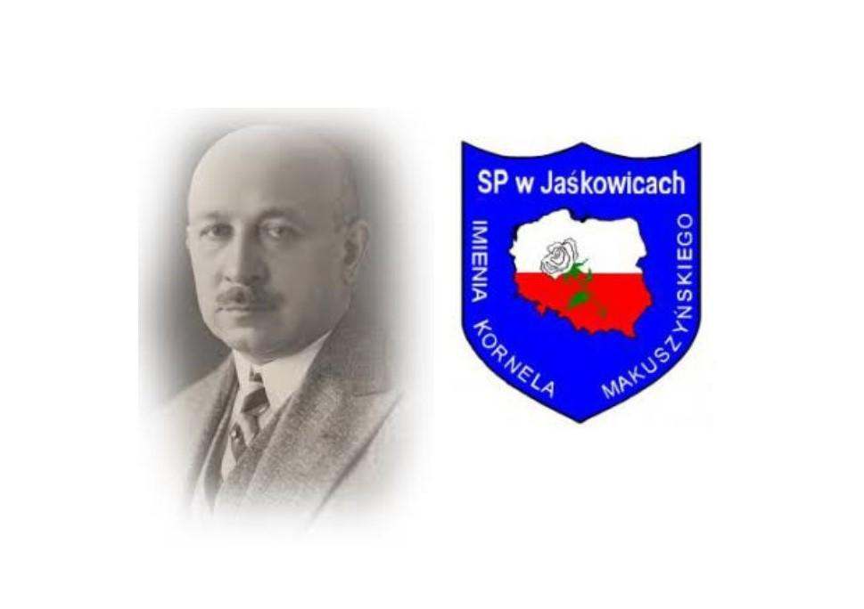 Logo Szkoła Podstawowa im. Kornela Makuszyńskiego w Jaśkowicach