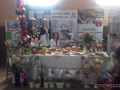 Stoły wielkanocne - Moszczenica 2016