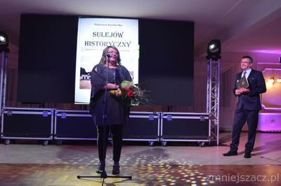 20.01.2018 - P.Katarzyna Myszkowska na gali podsumowującej wydarzenia kulturalne i sportowe w Gminie Sul