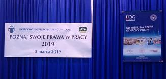 POZNAJ SWOJE PRAWA W PRACY PIP 05.03.2019R.