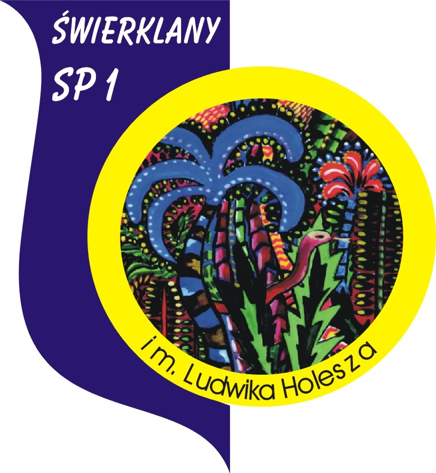 Logo Szkoła Podstawowa nr 1 im. Ludwika Holesza