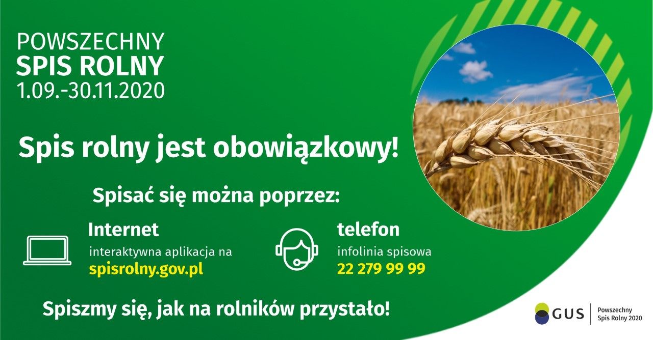 Powszechny Spis Rolny - grafika