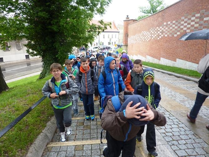 W drodze na Wawel...