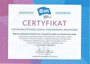Certyfikat AFS