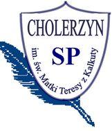 Logo Szkoła Podstawowa im. św. Matki Teresy z Kalkuty w Cholerzynie