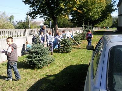 Kolejny raz uczniowie naszej szkoły wzięli udział w akcji Sprzątanie Świata.