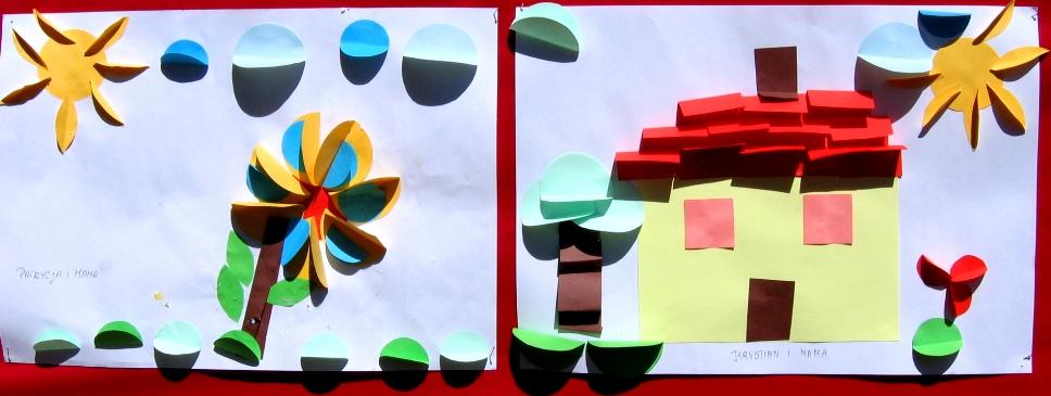 Wystarczy odrobina wyobrażni i kolorowe papierki!