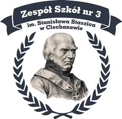 Logo Zespół Szkół nr 3 im. Stanisława Staszica w Ciechanowie