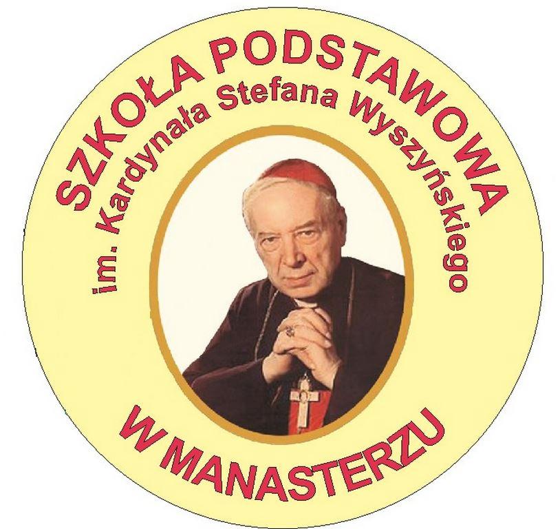 Logo Szkoła Podstawowa im. Kardynała Stefana Wyszyńskiego w Manasterzu