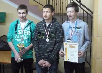 Dominik Szczepanek -3B, Piotr Kowalski - 3B, Michał Szczepanek - I
