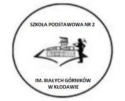 Logo Szkoła Podstawowa Nr 2 im. Białych Górników w Kłodawie