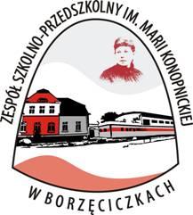 Logo Zespół Szkolno - Przedszkolny im. Marii Konopnickiej w Borzęciczkach